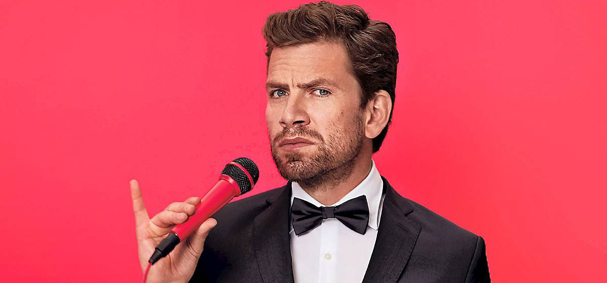 Nikolaj Lie Kaas Vært for ZULU Comedy Galla 2017 Foto: Mikkel Russel Jensen/ TV 2